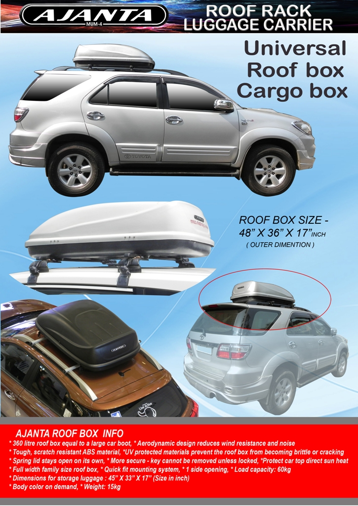 AJANTA-ROOF-BOX-CARGO-BOX-CAR-BOX-TYPE-CARRIER-MANUFACTURE-IN-MUMBAI-INDIA.