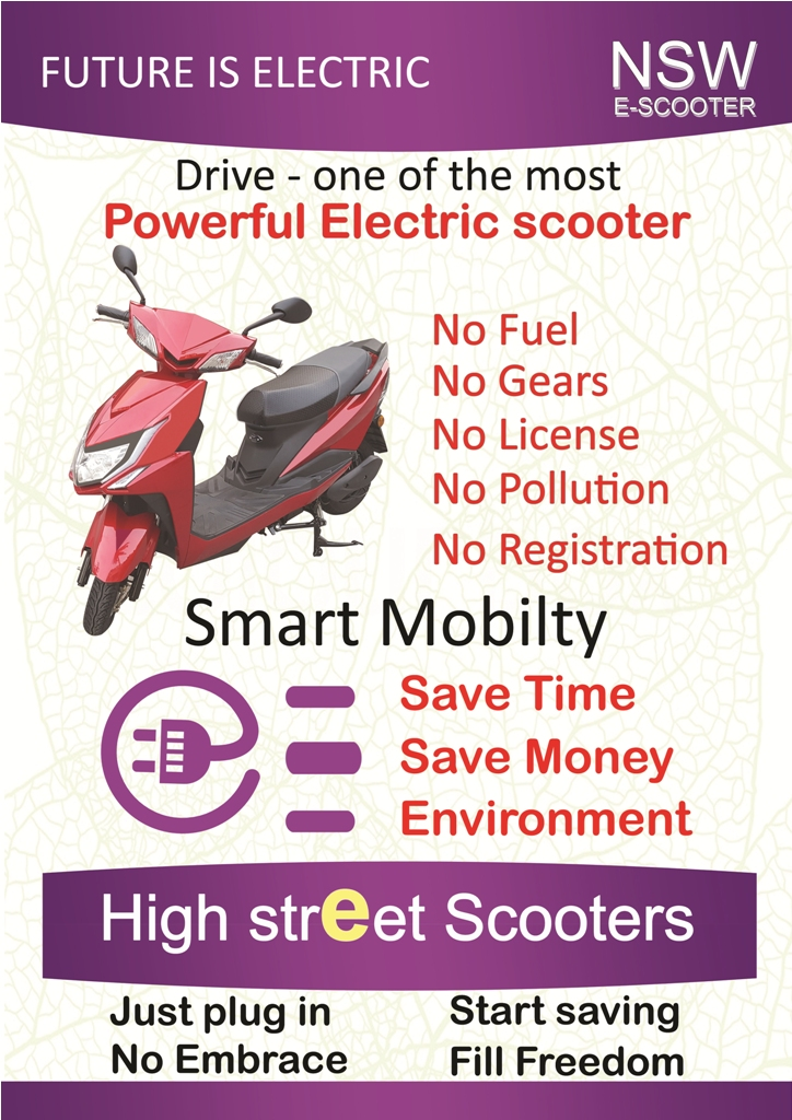 Ajanta Enterprise Nswe Scooter Electric Scooter Be