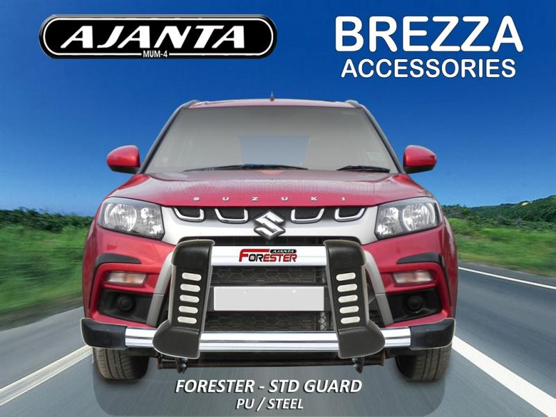 BREZZA-ACCESSORIES-FRONT-GUARD-FORESTER-STD-POLYURETHANE-STEEL-GUARD-AJANTA-MUM