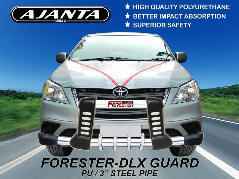 LATEST-INNOVA-FRONT-GUARD-FORESTER-DLX-PU-STEEL-POLYUERATHANE-GUARD-AJANTA-MUMBA