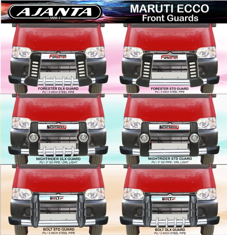 Ajanta Enterprise Front Guard Maruti Ecco Accessories