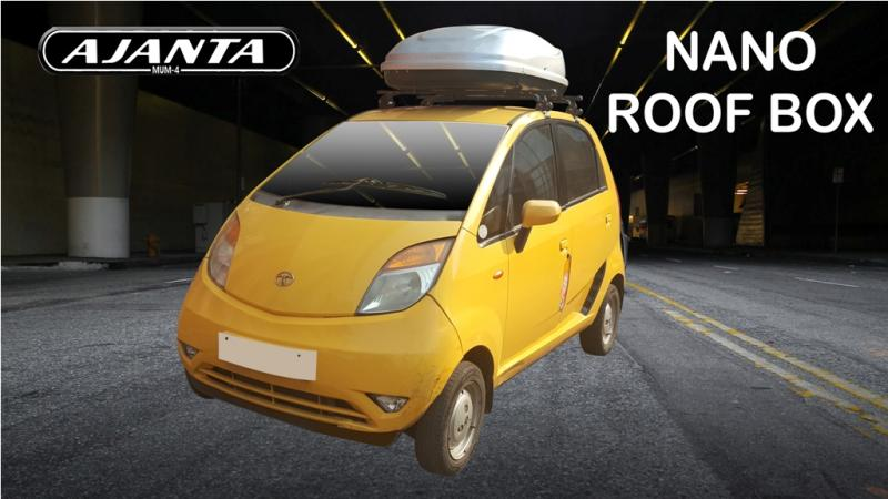 Roof box-cargo-box-luggage-box-for-car-tata-nano-india-abs-roof-box-manufacture-