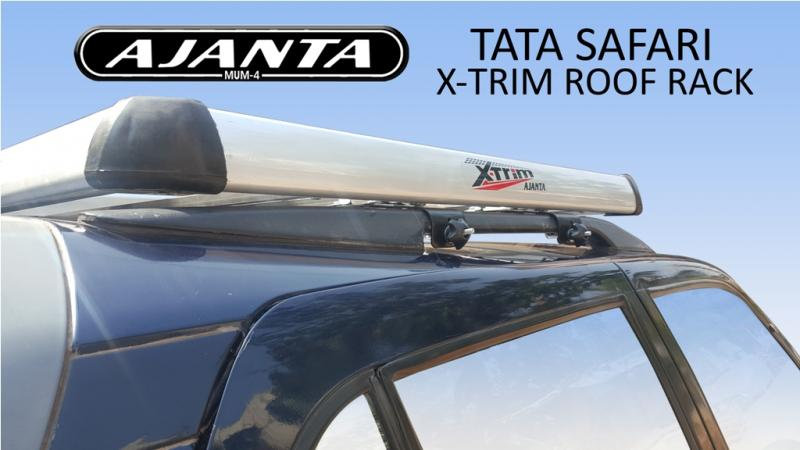 SAFARI X-TRIM LUGGAGE CARRIER - ROOFRACK-ROOF MOUNT CARRIER-LUGGAGE RACK-MUMBAI.
