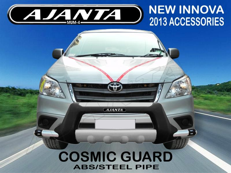 cosmic-front-guard-new innova-z modle- 2013-AJANTA-latest-FRONT-ABS-BUMPER-GUARD