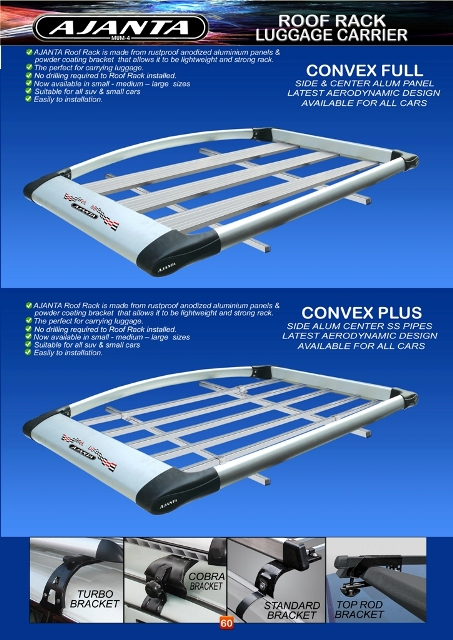 new design roof rack-roof carrier-luggage carrier-car top rack-manufacture-india